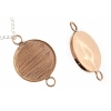 Bezel Handmade Link Round 29x1mm Copper